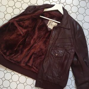 Vintage Berman Leather Jacket